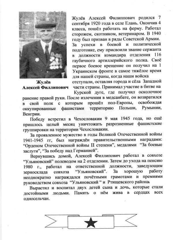 Жулев А.Ф.