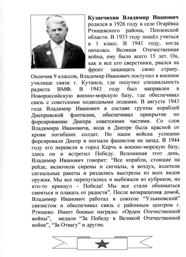 Кузнечихин В.И.
